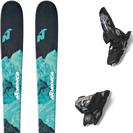 NORDICA ASTRAL 78 21 + MARKER GRIFFON 13 ID BLACK 20