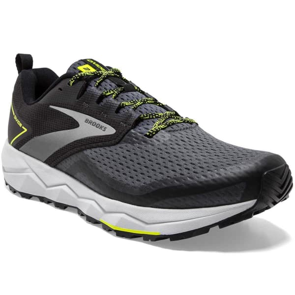 BROOKS Chaussure trail Divide 2 Black/ebony/nightlife Homme Gris/Noir taille 7