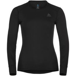 ODLO ACTIVE WARM ECO BL TOP CREW NECK L/S W BLACK 21