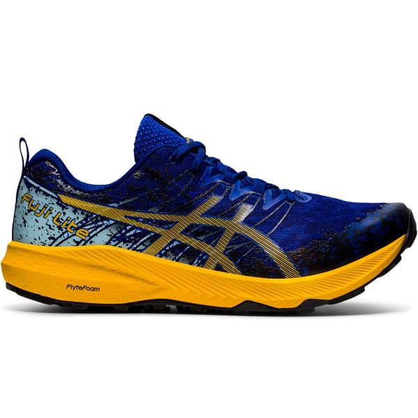 ASICS Chaussure trail Fuji Lite 2 Monaco Blue/sunflower Homme Bleu/Jaune taille 7.5