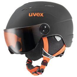 UVEX VISOR PRO JR BLACK/ORANGE MAT 21