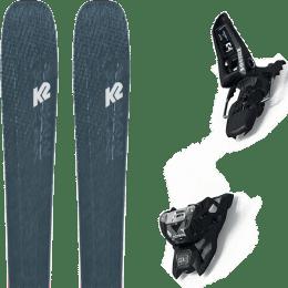 Pack ski alpin K2 K2 MINDBENDER 98 TI ALLIANCE 20 + MARKER SQUIRE 11 ID BLACK 21 - Ekosport