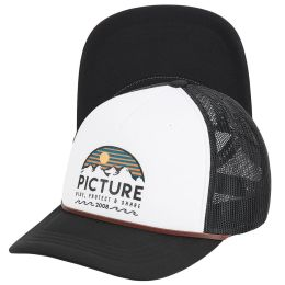 PICTURE KULDO TRUCKER CAP WHITE 21