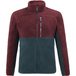 MILLET REPERCUTE FLEECESHEEP JKT ORION BLUE/TIBETAN RED 21
