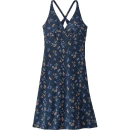 PATAGONIA W'S AMBER DAWN DRESS QUITO MULTI  TIDEPOOL BLUE 21