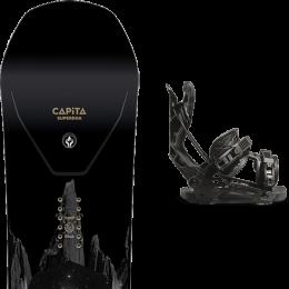 CAPITA SUPER D.O.A. 21 + FLOW NX2 FUSION BLACK 21