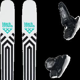 BLACK CROWS ATRIS 20 + MARKER GRIFFON 13 ID BLACK 21