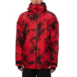 Vêtement hiver 686 686 MN GLCR GORE HYDRSTSH SYNC JKT RED TIE-DYE 21 - Ekosport