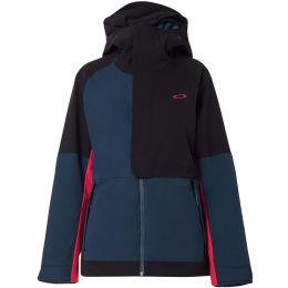 Vêtement hiver OAKLEY OAKLEY CAMELLIA SHELL JACKET BLACK/BLUE 21 - Ekosport