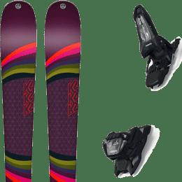 Pack ski alpin K2 K2 MISSCONDUCT 19 + MARKER GRIFFON 13 ID BLACK 21 - Ekosport