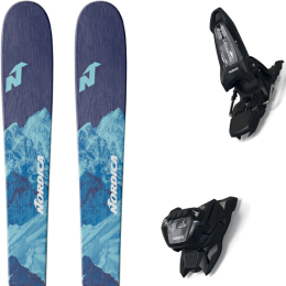 NORDICA ASTRAL 84 21 + MARKER GRIFFON 13 ID BLACK 21