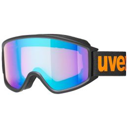 UVEX GGL 3000 CV BLACK MAT/MIR BLUE/COL ORANGE 20