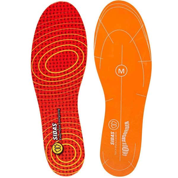 SIDAS Semelle chaussure Impact Reducer Rouge/Orange XS