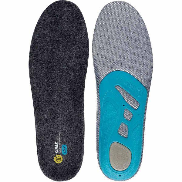 SIDAS Semelle chaussure 3 Feet Merinos Low Bleu 44/45