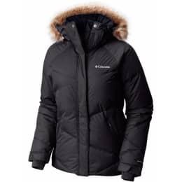 Vêtement de ski COLUMBIA COLUMBIA LAY D DOWN JKT W BLACK METALLIC 19 - Ekosport