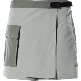 THE NORTH FACE W PARAMOUNT SKORT WROUGHT IRON/AGAVE GREEN 21