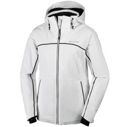 COLUMBIA MILLENIUM BLUR JKT W WHITE/BLACK TAPE 17