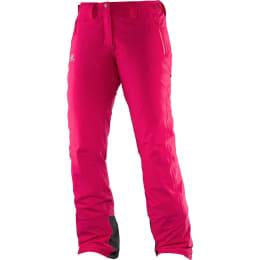 Vêtement hiver SALOMON SALOMON ICEGLORY PANT W GAURA PINK 17 - Ekosport