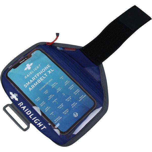 RAIDLIGHT Brassard running Smartphone Armbelt Xl Dark Blue/grey Bleu/Gris/Noir Unique
