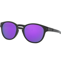 OAKLEY LATCH MATTE BLACK W/ PRIZM VIOLET 20