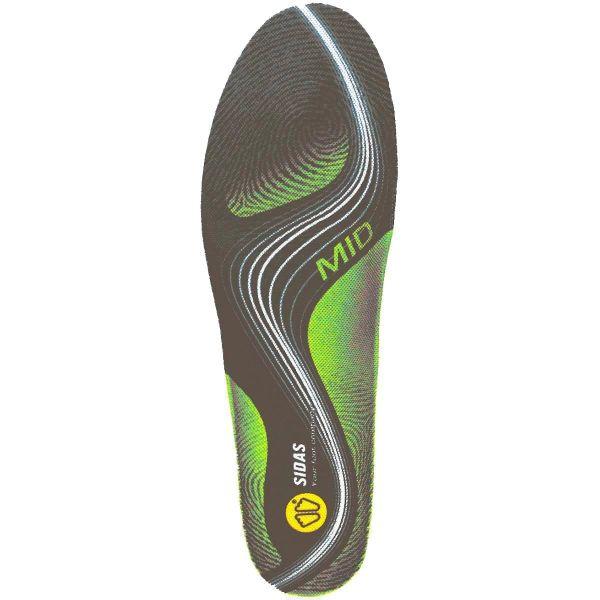 SIDAS Semelle chaussure 3feet Activ Mid Gris/Vert S