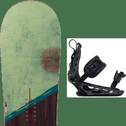 Snowboard ROSSIGNOL ROSSIGNOL TEMPLAR 21 + K2 CINCH TC BLACK 21 - Ekosport