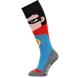 BARTS SKISOCK SUPER HERO KIDS RED 21