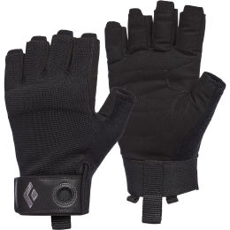 BLACK DIAMOND CRAG HALF-FINGER GLOVES BLACK 21