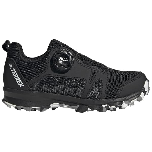 ADIDAS Chaussure trail Terrex Agravic Boa Kids Core Black Enfant Noir taille 33