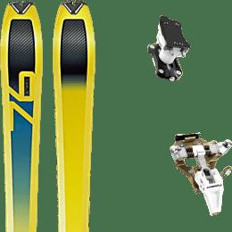 Landing housse ski offerte 2018 DYNAFIT DYNAFIT SPEED 76 20 + DYNAFIT SPEED TURN 2.0 BRONZE/BLACK 21 - Ekosport
