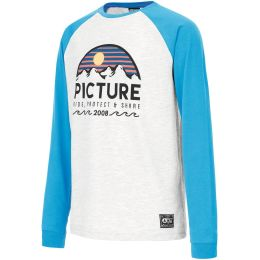 PICTURE CROSS LS TEE KIDS PICTURE BLUE 21
