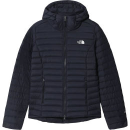 THE NORTH FACE W STRETCH DOWN HOODIE AVIATOR NAVY 21