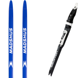 MADSHUS ENDURACE SKATE 22 + SALOMON SNS PILOT RS BLACK/WHITE 21