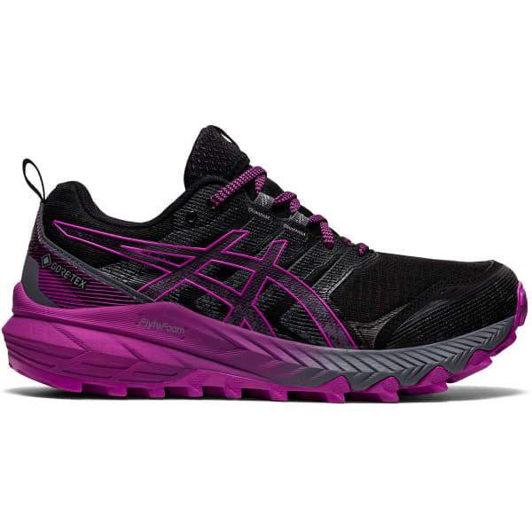 ASICS Chaussure trail Gel-trabuco 9 Gore-tex W Black/digital Grape Femme Noir/Violet taille 6