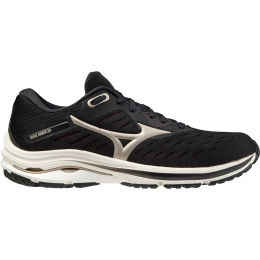 MIZUNO WAVE RIDER 24 W BLACK/PLATINUM GOLDOLD/FUDGE 21