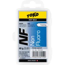 Nouveautés 2018 en vrac TOKO TOKO NF HOT WAX 40G BLUE 20 - Ekosport
