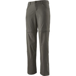 PATAGONIA W'S QUANDARY CONVERTIBLE PANTS - REG FORGE GREY 21