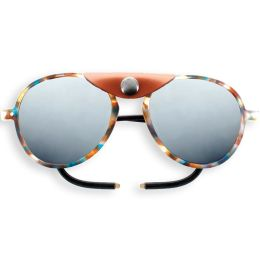 IZIPIZI SUN GLACIER PLUS BLUE TORTOISE BROWN SHIELDS 21