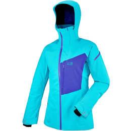 Vêtement de ski MILLET MILLET BIG WHITE STRETCH JKT W BLUE BIRD/PURPLE BLUE 18 - Ekosport