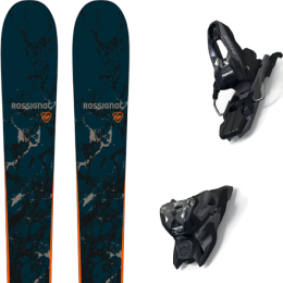 ROSSIGNOL BLACKOPS WHIZBANGER 21 + MARKER FREE TEN ID BLACK/ANTHRACITE (+SCREW KIT) 21