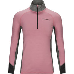 PEAK PERFORMANCE W MAGIC HALF ZIP FROSTY ROSE 21