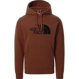 THE NORTH FACE M DREW PEAK PULLOVER HOODIE - EU TURTLE BROWN 21