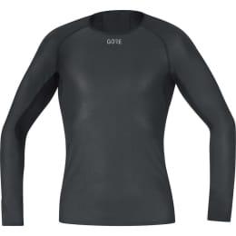 Textile GORE GORE M GWS BL LS SHIRT BLACK 21 - Ekosport