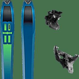 Pack ski DYNAFIT DYNAFIT TOUR 88 20 + DYNAFIT TLT SPEED 12 BLACK 21 - Ekosport