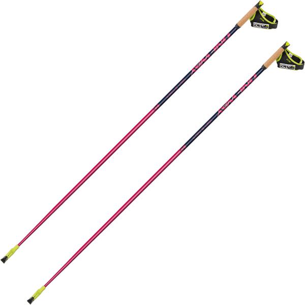 ONE WAY Bâton de marche nordique Team 15 Mag R Femme Rose/Bleu taille 120