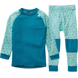HELLY HANSEN K HH LIFA MERINO SET JR BLUET 21