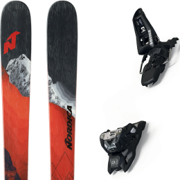 NORDICA ENFORCER 94 21 + MARKER SQUIRE 11 ID BLACK 21