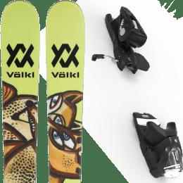 Pack ski alpin VOLKL VOLKL REVOLT 87 22 + LOOK NX 12 GW B90 BLACK 21 - Ekosport