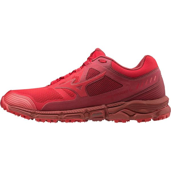 MIZUNO Chaussure trail Wave Daichi 5 Cred/cred/biking Red Homme Rouge taille 10