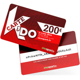 Cartes cadeaux EKOSPORT E-CARD KDO 200 € - Ekosport